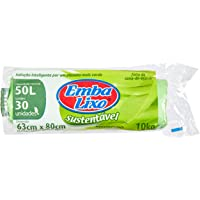 Saco Lixo Embalixo Sustentável 50 Litros