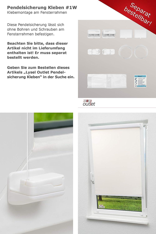 B x H Kassettenrollo Tageslicht Elfenbein, 40cm x 175cm in beige//Elfenbein LYSEL Outlet