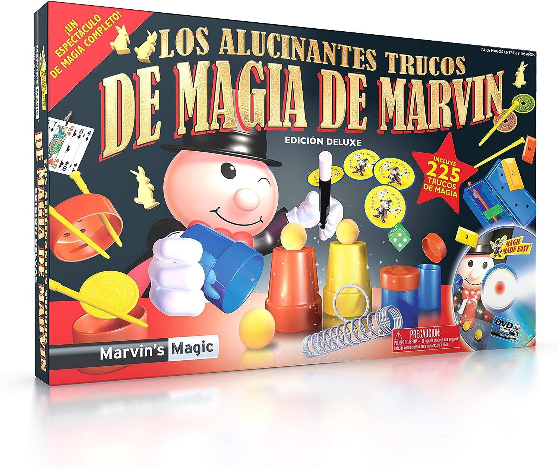 Marvin's Magic- Magic Set, Color Negro/Plata, Pack de 1 (MME 225/B)