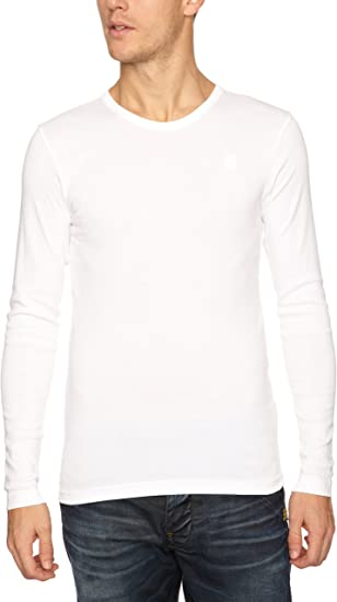 G Star Base RTLS T Shirt Manches longues Homme