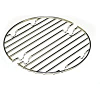 CanCooker Inc RK-003 Can Cooker Rack, Round, Silver
