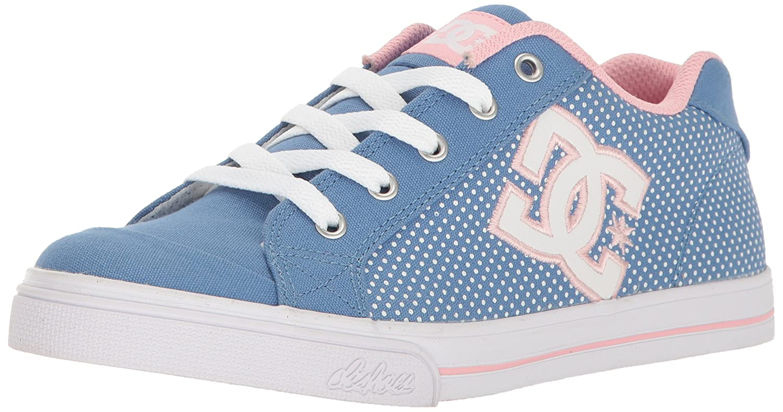 DC Women's Chelsea TX SE Sneaker B01HC43EVS 2 M US Little Kid|Blue/White Print