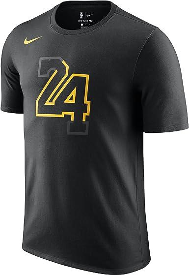 Nike NBA Los Angeles Lakers Kobe Bryant 24 Black Mamba 2017