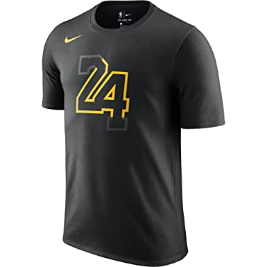 Nike LAL M NK Dry tee ES CE Team - Camiseta, Hombre, Negro(