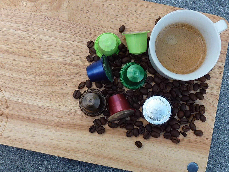 80 Cafés Oquendo Nespresso Compatible Coffee Capsules – (TEMPERANZA) Premium Quality Nespresso coffee - 8 Boxes 10 capsules in each box - 80 cups - 60 Day ...