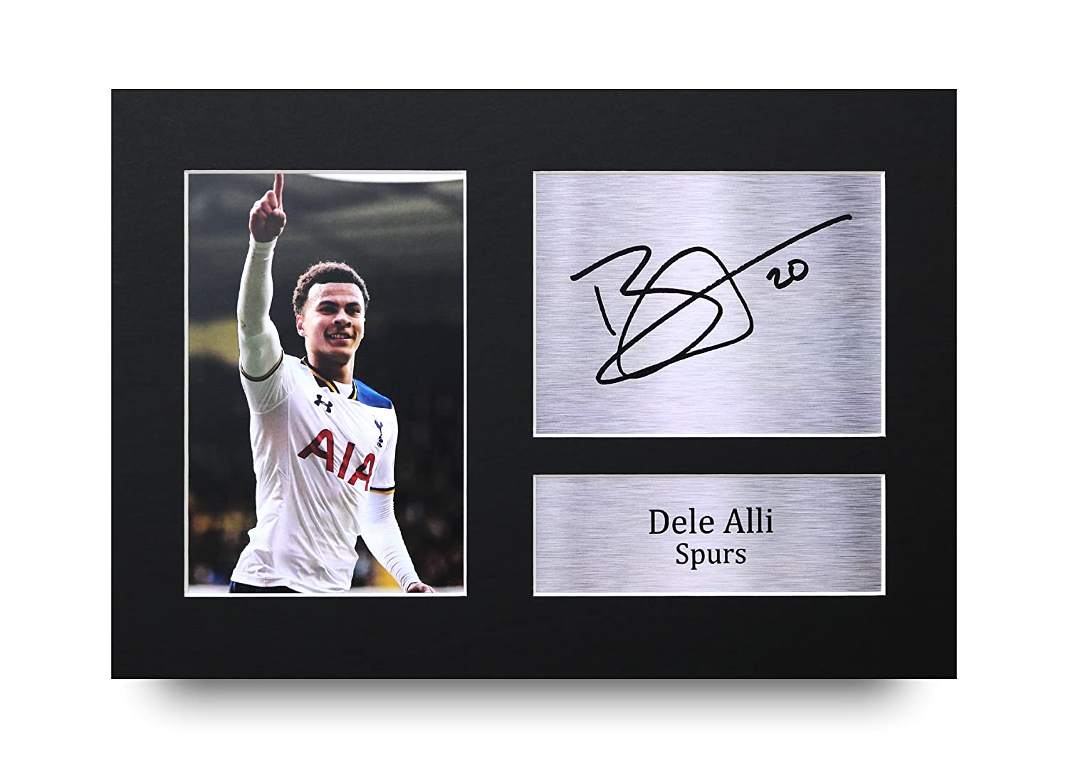 Dele Alli Signed A4 Printed Autograph Tottenham Hotspur Print Photo Picture Display - Great Gift Idea HWC Trading