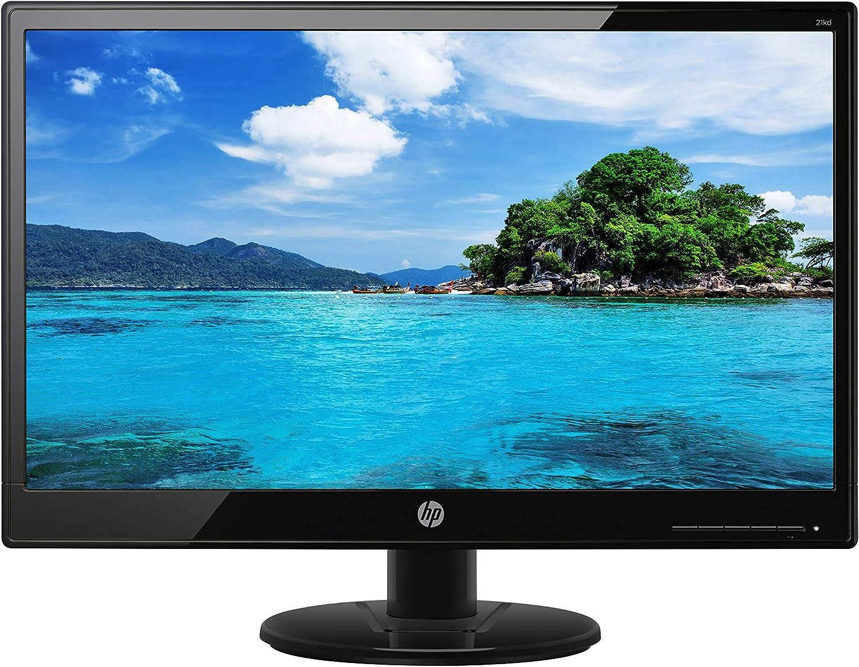 """HP 21KD Monitor LED Backlight 200 nits 1920x1080 VGA and DVI-D Ports (Renewed) 20.7"""""""