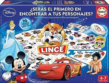 Educa Borrás Lince Edición Disney, 70 imágenes (16585): Amazon ...