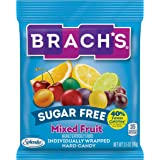 Brach's Sugar Free Hard Candy, Individually Wrapped, mixed fruit, 1.68 Pound (Pack of 12)
