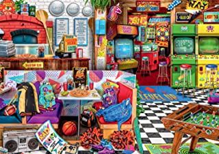 product image for Buffalo Games - Pizza and Pixels - 500 Piece Jigsaw Puzzle