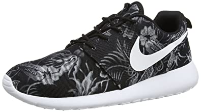 Nike Roshe Run Print, Herren Laufschuhe Grau Grey (Cool Grey