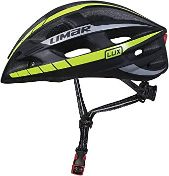 Limar Lux Superlight – Casco de Ciclismo, tamaño Mediano, Unisex, Lux, Reflectante
