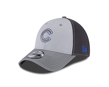 53b054267eb Amazon.com   New Era MLB Chicago Cubs Grayed Out NEO 39Thirty ...