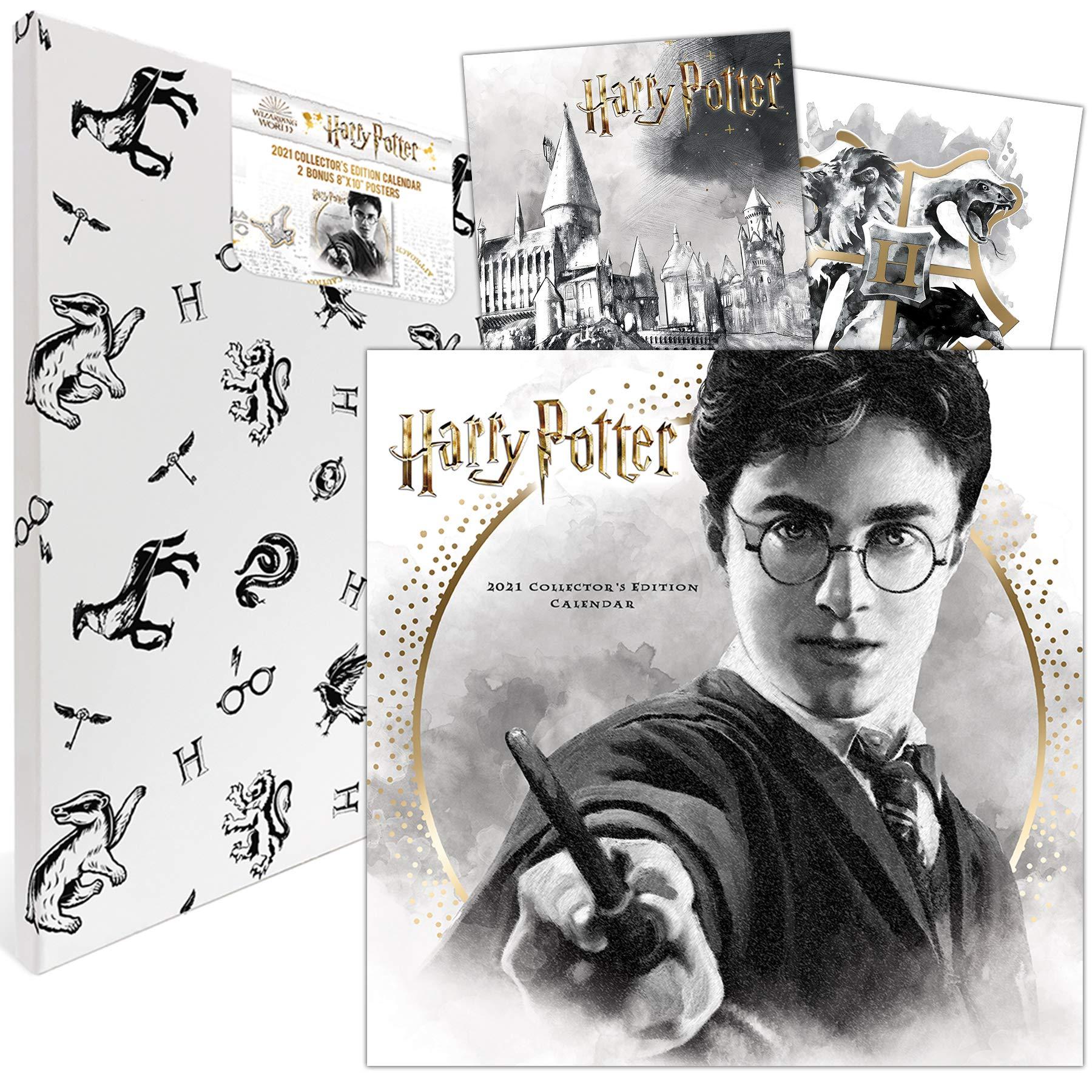 Amazon Com Harry Potter 2021 Calendar Includes 2 Posters 0057668214003 Trends International Llc Books