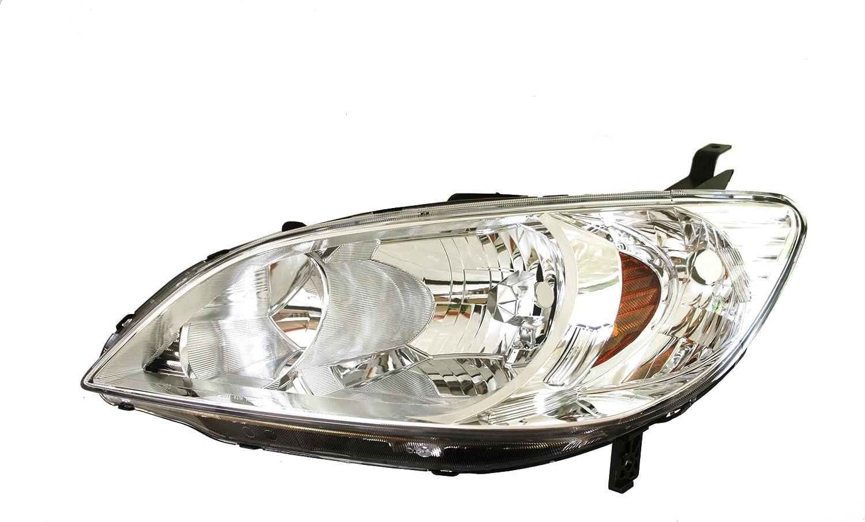 Genuine Honda Parts 33101-S10-A01 Passenger Side Headlight Assembly Composite