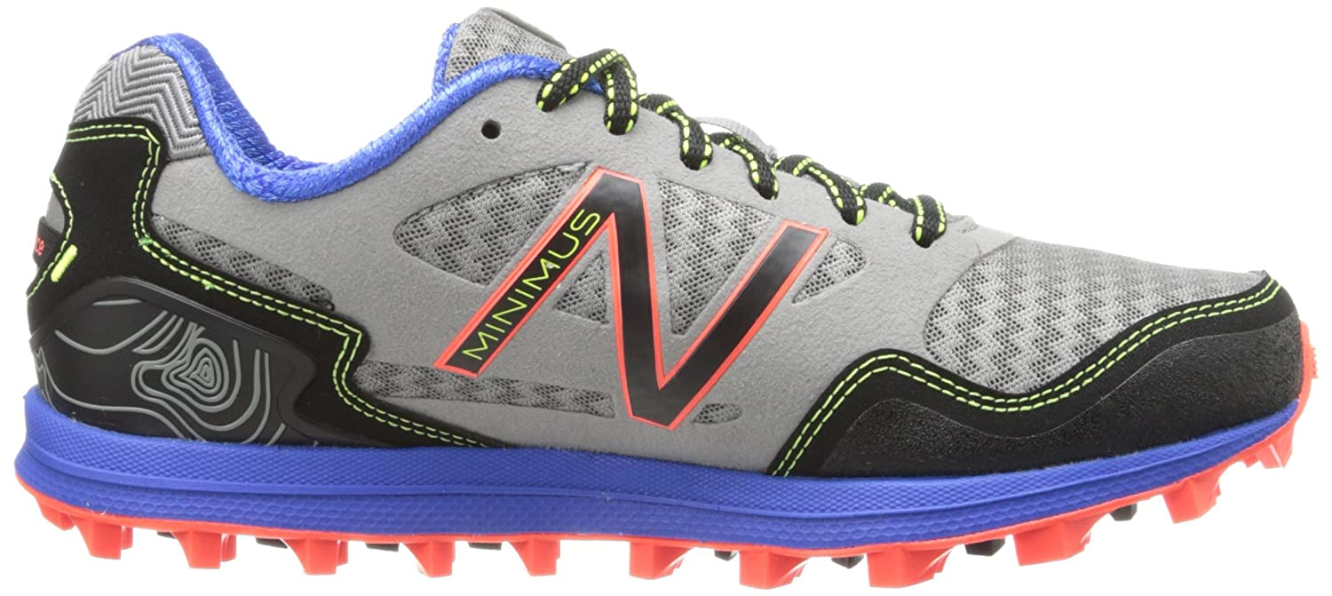 New Balance Women's WT00 Minimus Trail-Running Shoe B00F526M3M 10 B(M) US|Grey/Blue
