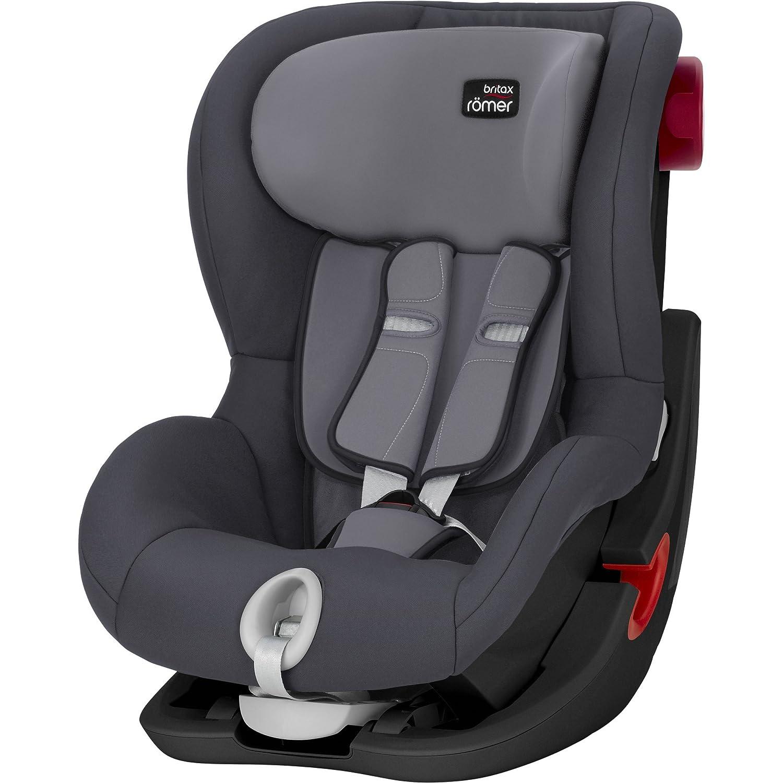 Britax R/ömer Kindersitz 9 Monate 4 Jahre I 9-18 kg I KING II Autositz Gruppe 1 I Cosmos Black