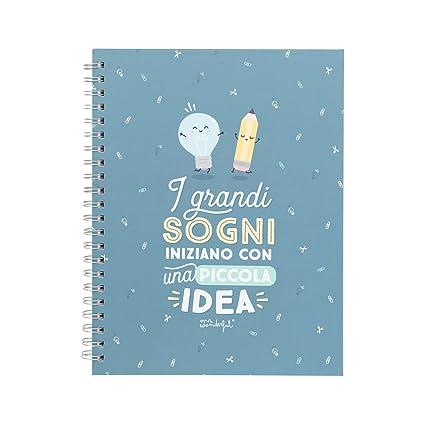 Mr. Wonderful Cuaderno, I grandes sueños iniziano con una ...