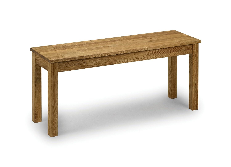 Julian Bowen Coxmoor - Banco de madera de roble Julian Bowen Limited COX004 FBJULB-215
