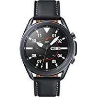 Samsung Galaxy Watch3 (45mm, GPS, Bluetooth, Unlocked LTE), Mystic Black (US Version with Warranty)