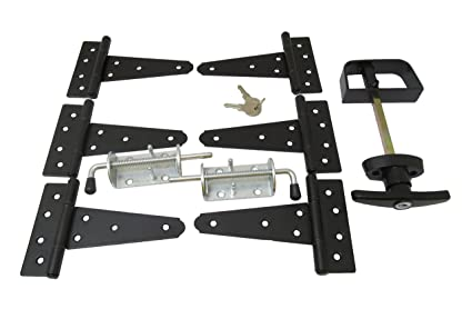 Etonnant Shed Door Hardware Kit #1, T Hinges 5u0026quot;, T Handle,