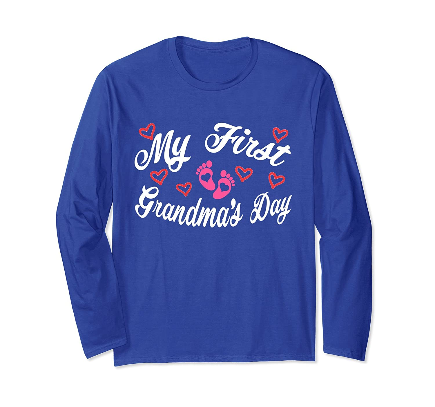 Mother's Day My First Grandma's Day Woman Cute Long Sleeve-anz