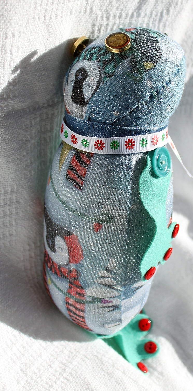 Filbert The Christmas Frog Sock Doll Destruction Bay Sock Doll