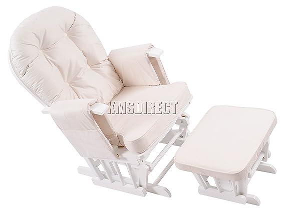 Sedia A Dondolo Per Allattamento Della Chicco : Foxhunter sedia a dondolo per gravidanza allattamento glider con