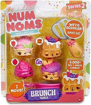 MGA Entertainment Num Noms Starter Pack Series 2 Brunch Bunch Cocina y Comida Estuche de Juego - Juegos de rol (Cocina y Comida, Estuche de Juego, 3 año(s), Chica,, plástico): Amazon.es: Juguetes