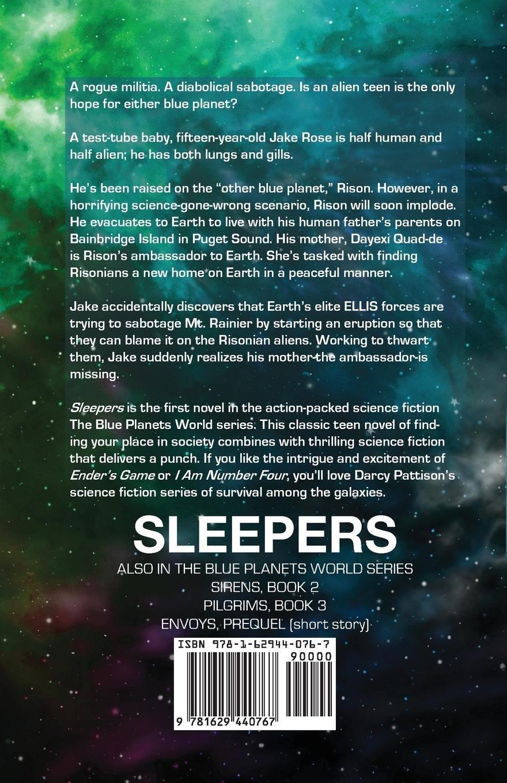 Amazon.com: Sleepers (The Blue Planets World) (Volume 1) (9781629440767):  Darcy Pattison: Books