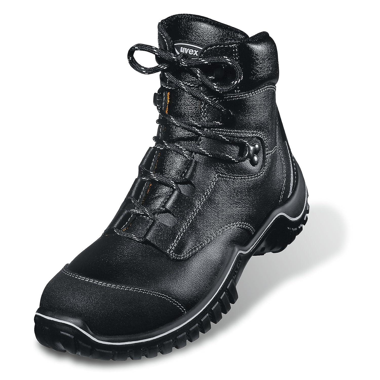 Uvex Uvex Uvex 6986.2–6 Motion Light Lace Up Sicherheit Stiefel mit Zwischensohle, S3, EU 39, Größe 6, Schwarz  60c0ce