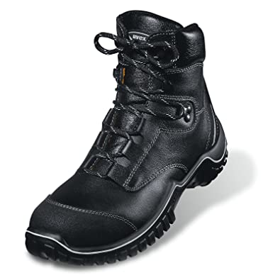 82784bf515b Uvex 'Motion Light' S3 Leather Safety Boots. Wide-Fit, Steel Toe ...