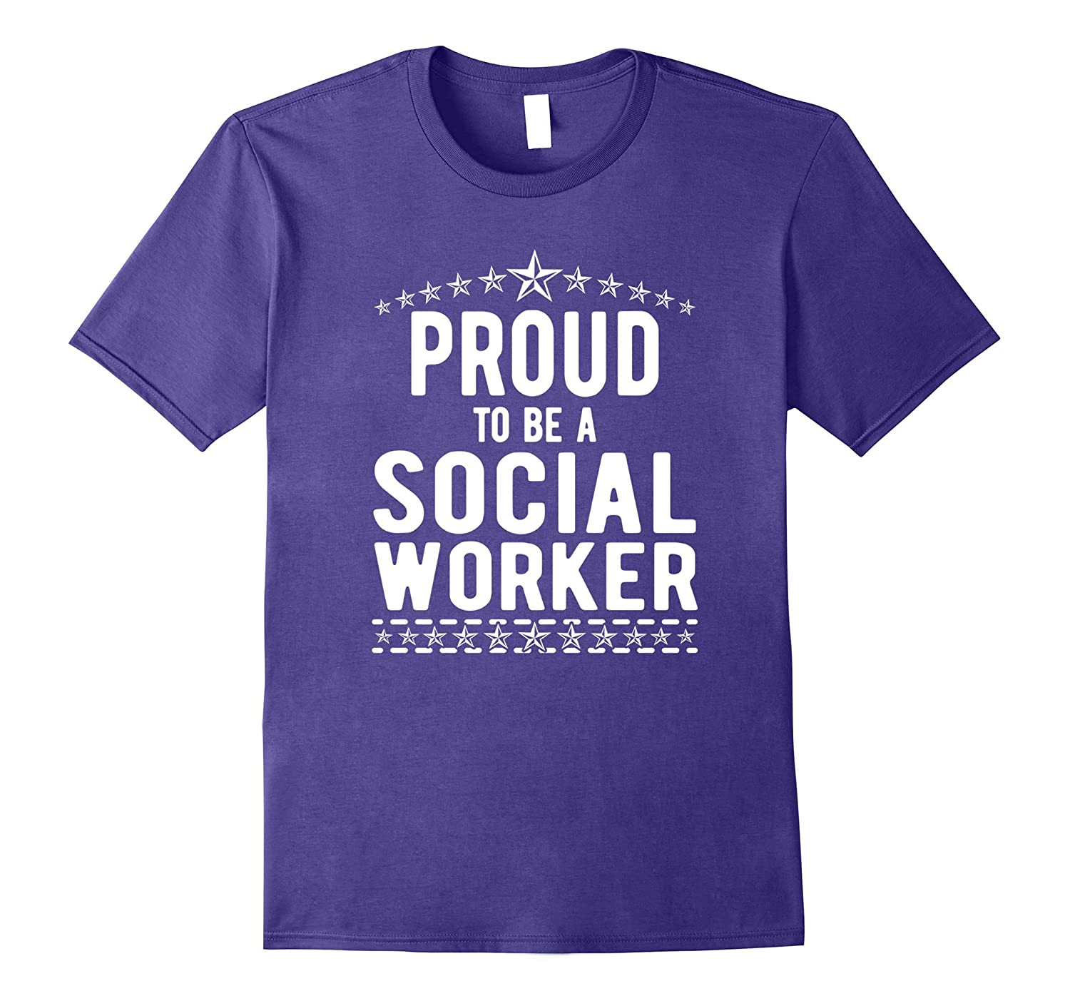 The Official Proud to Be a Social Worker T-Shirt-TJ