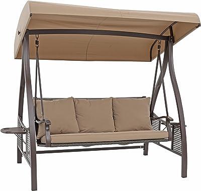 Amazon Com Island Gale Luxury 2 Person Wicker Swing