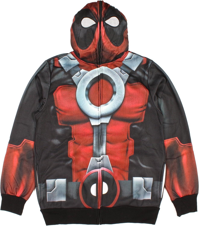 Mens Adult Deadpool Hoodie