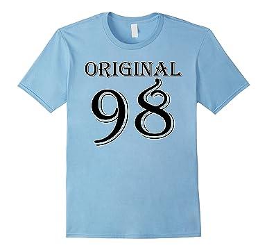 Mens 18th Birthday Gift Idea 18 Year Old Boy Girl Shirt 1998 2XL Baby Blue