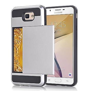 Alfort Funda Samsung J7 Prime, 2 en 1 Carcasa Samsung Galaxy ...