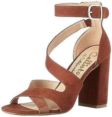fcd69d42f548 Callisto Women s Dinah Dress Sandal Tan Suede 6 ...