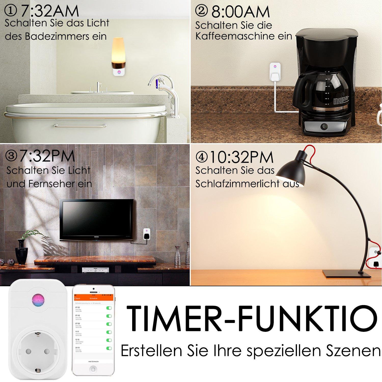 Niedlich Steckdose Um Auf Licht Zu Schalten Galerie - Elektrische ...
