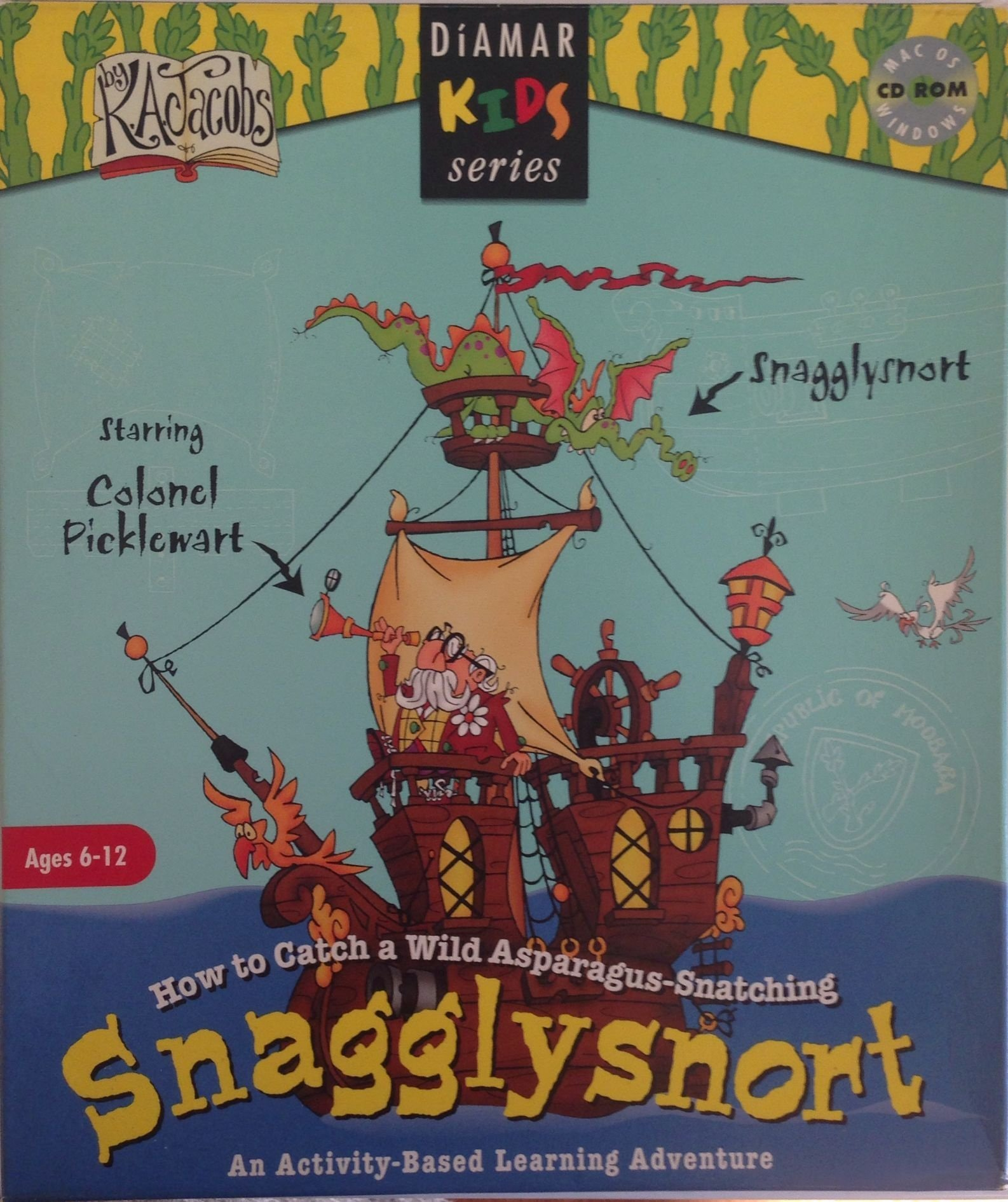 Download How To Catch a Wild Asparagus Snatching Snagglysnort (Ages 6-12) pdf epub