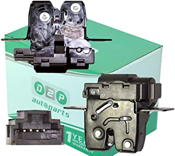 D2P para Renault Modus/Grand Modus y Scenic Mk2 portón Trasero Lock actuador/para Lock Latch: Amazon.es: Coche y moto