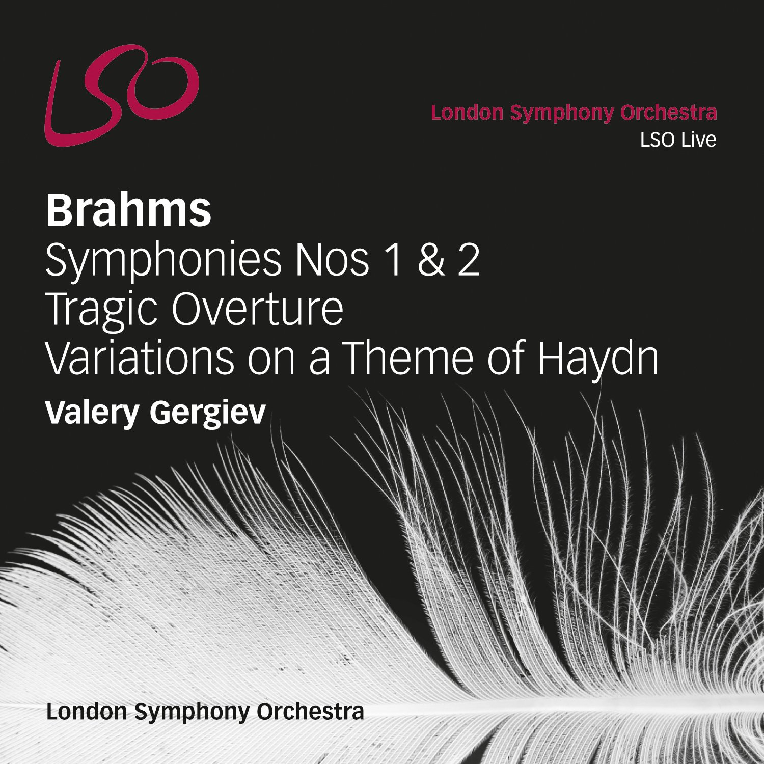 Brahms: Symphonies Nos.1 & 2, Tragic Overture, Haydn Variations by LSO LIVE