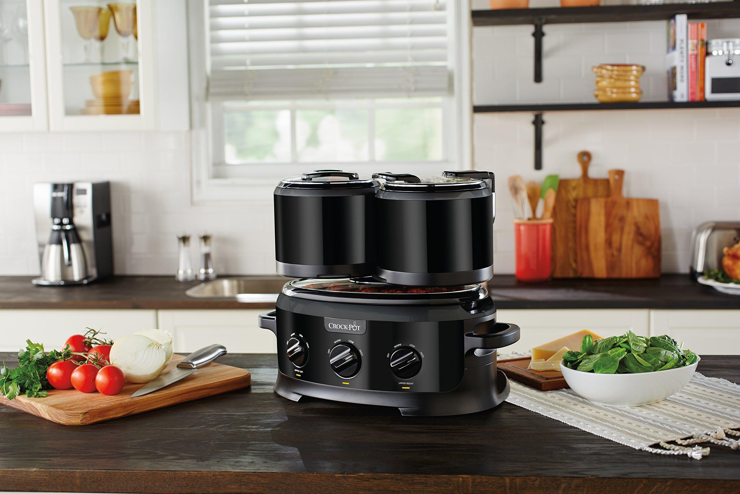 Crock-pot SCCPTOWER-B Swing and Serve Slow Cooker, Black by Crock-Pot (Image #4)