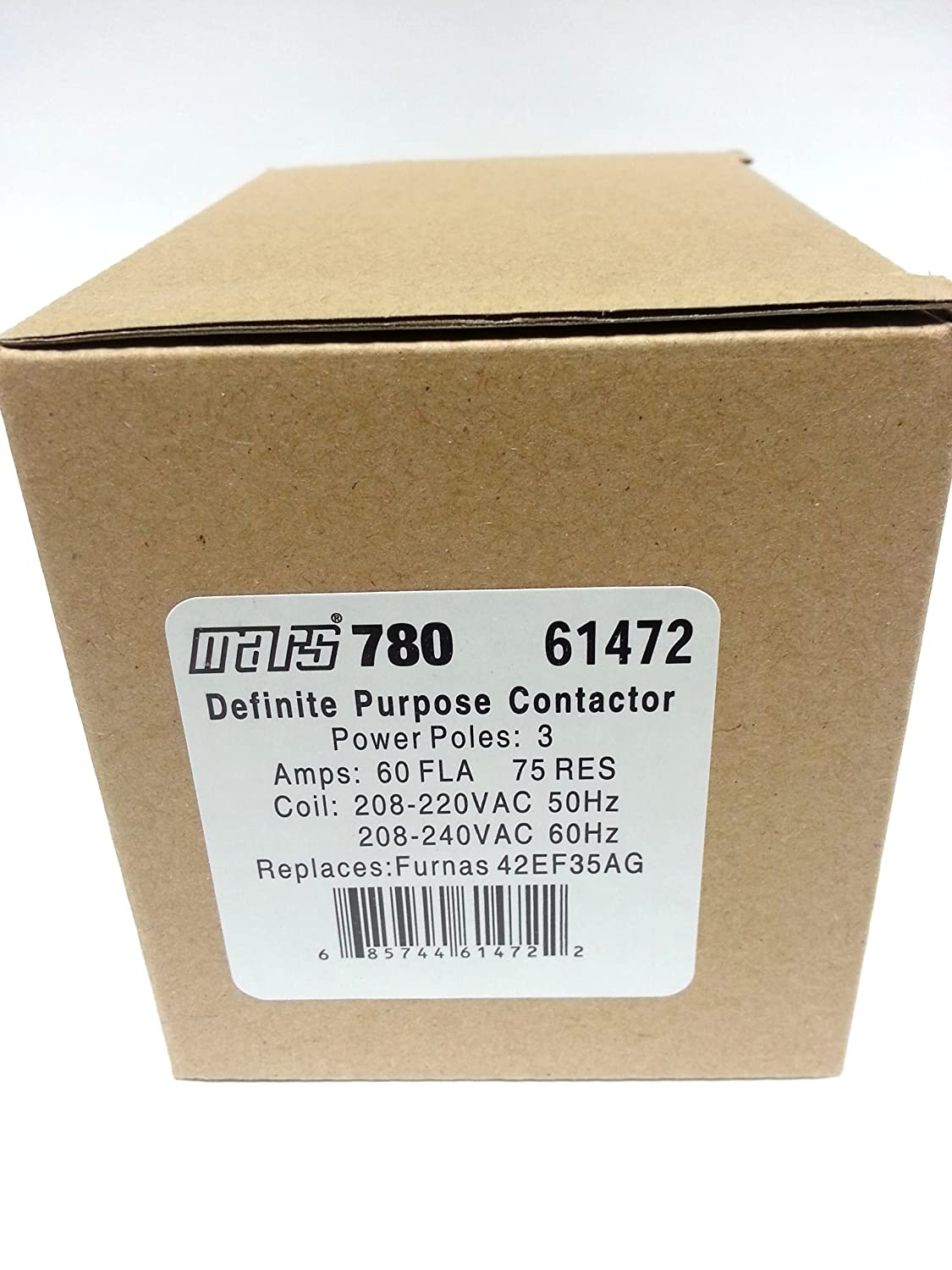 MARS 780 61472 CONTACTOR (direct replacement of Furnas 42EF35AG):  Industrial Hvac Components: Amazon.com: Industrial & Scientific