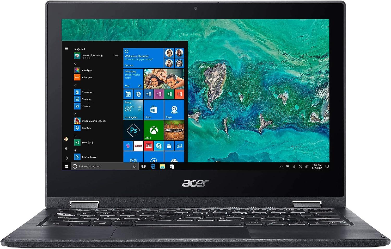 "Acer Spin 1 11.6"" Laptop Intel Pentium Silver 1.10 GHz 4GB Ram 64GB Flash W10H (Renewed)"