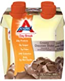 Atkins Day Break Creamy Chocolate Shake, 11-Ounces, 4-Count