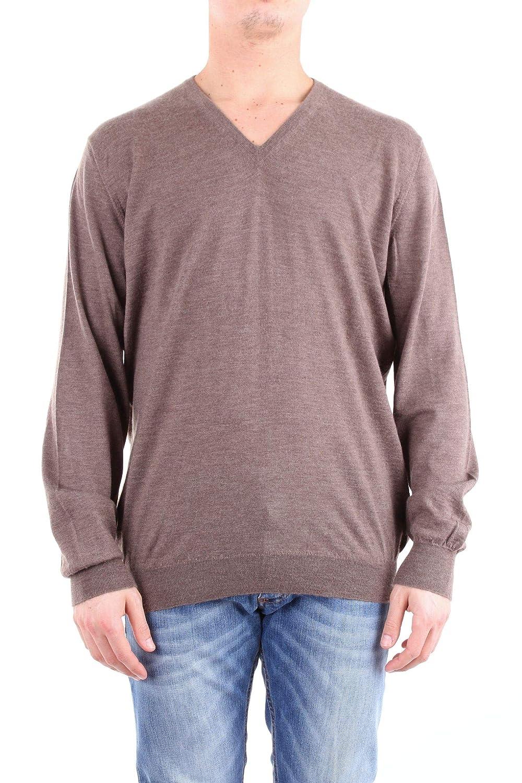 Viadeste Men's 4511512090GREY Grey Wool Sweater