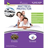 """Four Seasons Essentials RV Short Queen Waterproof Mattress Protector (60"""" Wx75 L) - Fitted Sheet Style - Hypoallergenic Premi"""