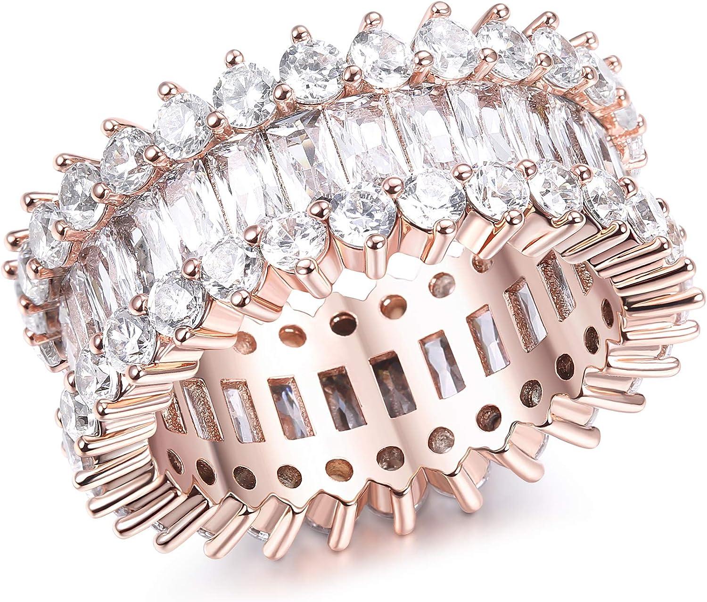 Wedding & Engagement Udalyn Cubic Zirconia Ring for Women Eternity ...
