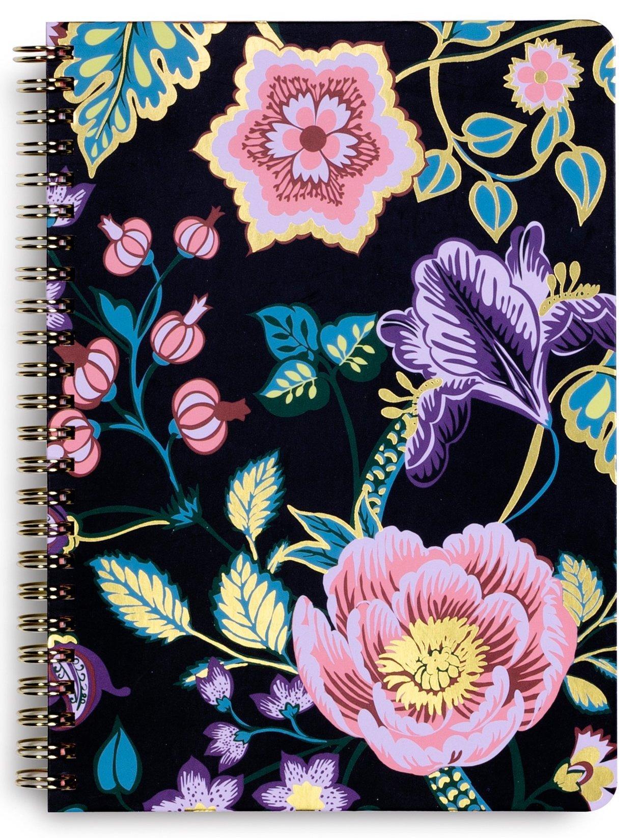 Vera Bradley Women's Mini Notebook with Pocket (Vines Floral)